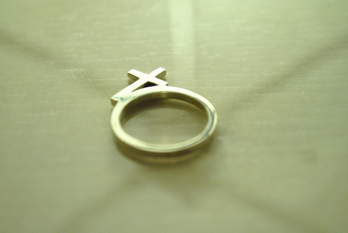 bague croix