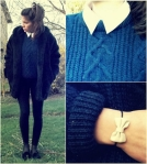 lookbook bleu